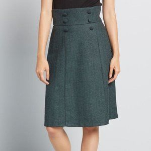 Modcloth Timeless Elements High-Waisted Skirt